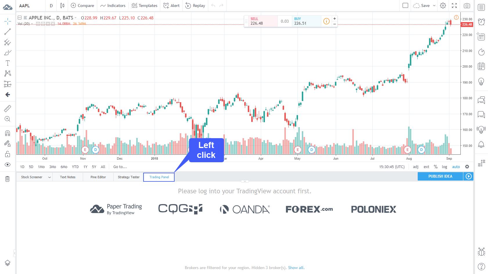 """Kaip pradėti prekiauti Forex sistemoje """"TradingView"""". - Joonas internete"""
